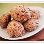 Grova scones med nötter