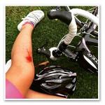 En cykelolycka
