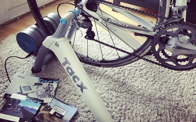 New in; Tacx i-Vortex smart cykeltrainer