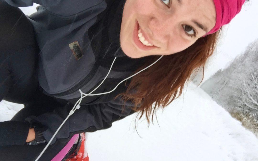 Årets första snö och vurpa!