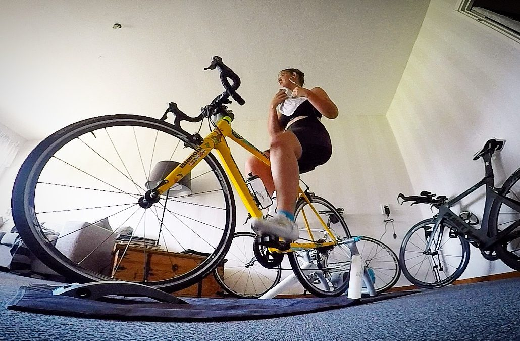Veckans träningspass; Cykeltrainer 75 min