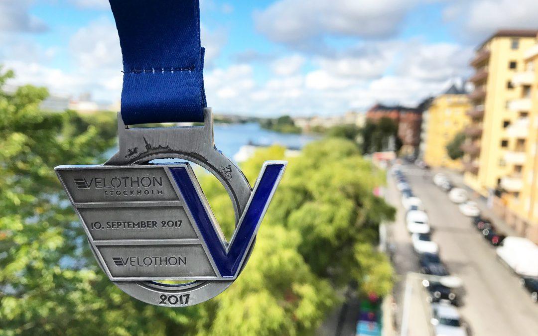 Race-Rapport; Velothon Stockholm 60, 2017