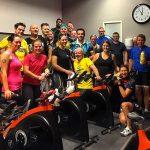 Första träningen med Team Rynkeby Värmland 2018!