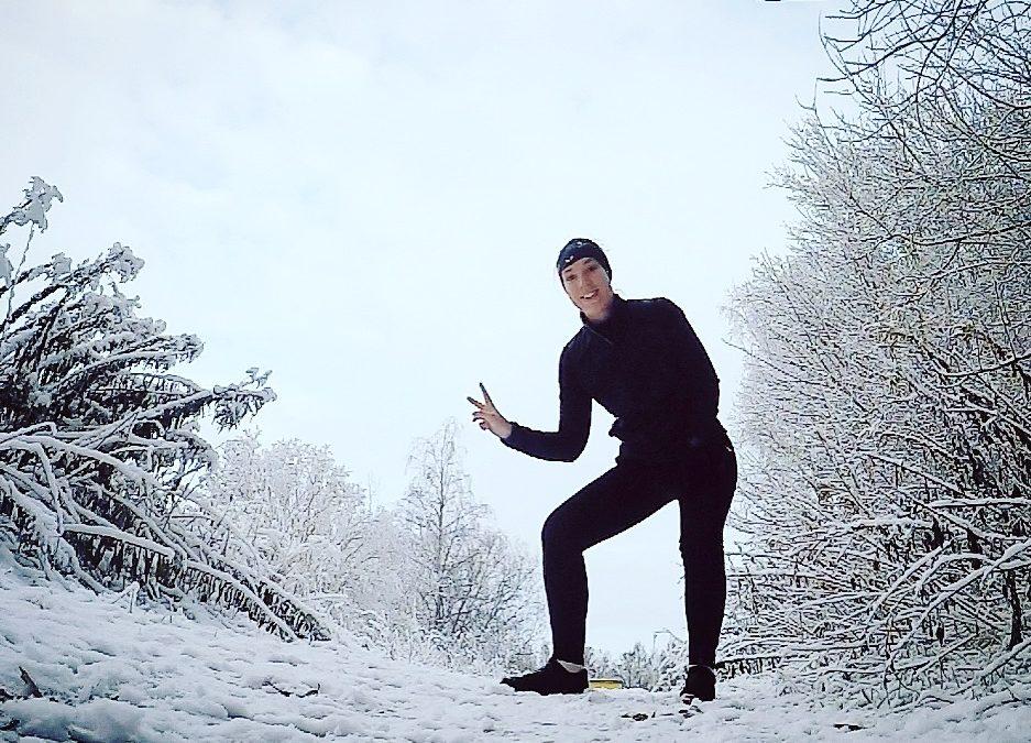 Vinterlandskap innan julafton!