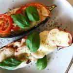 Kryddig ugnsbakad aubergine