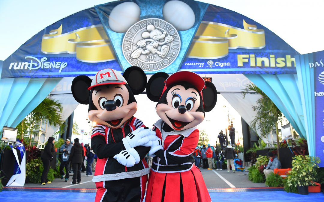 Maraton nr 8 = Walt Disney World marathon 2019!