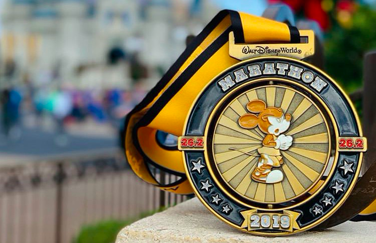 Race-rapport; Walt Disney World marathon 2019