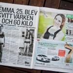 MarathonEmma i Expressen GT
