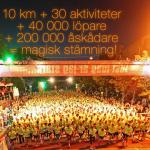 Sista förberedelserna inför Midnattsloppet 2014