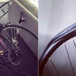 Cykelverkstad i vardagsrummet