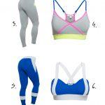 Träningskläder för gymmet
