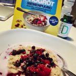 Frukosttips; Risenta frögröt