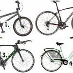 Vilken cykel ska jag använda till vad?