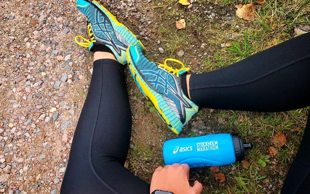 Ett färdigt pass löpstyrka för ben
