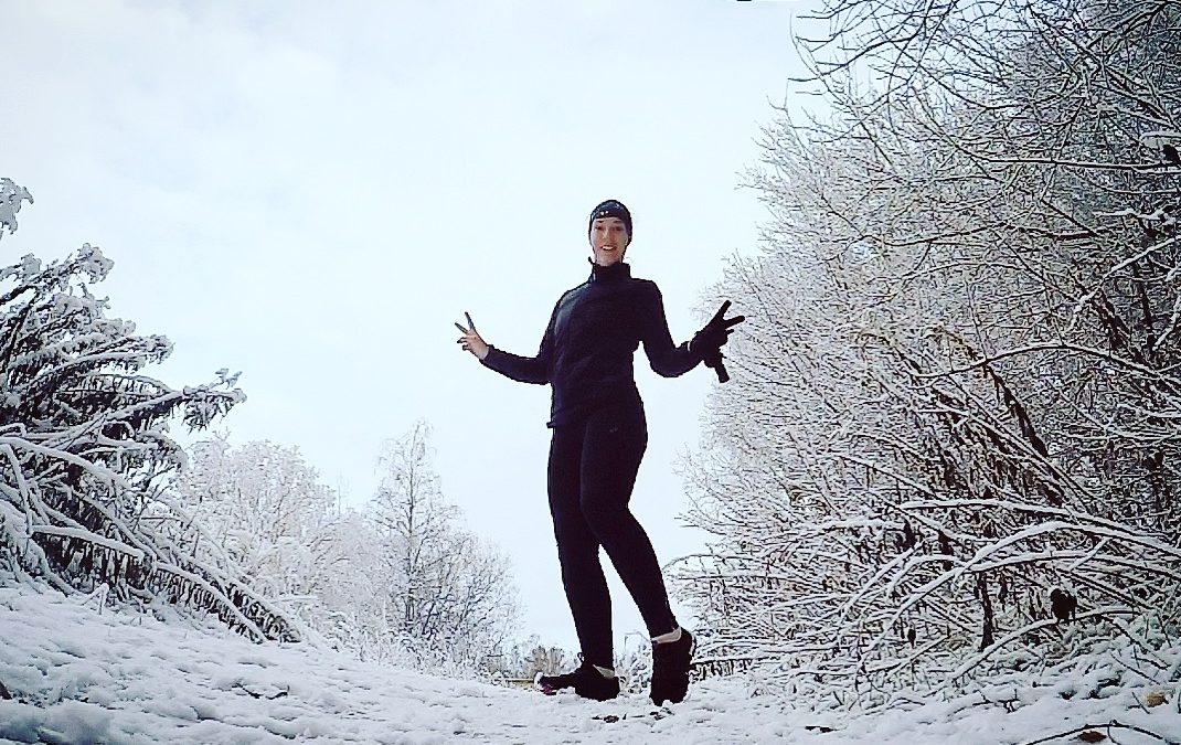 Hur kallt kan det vara för att springa ute?