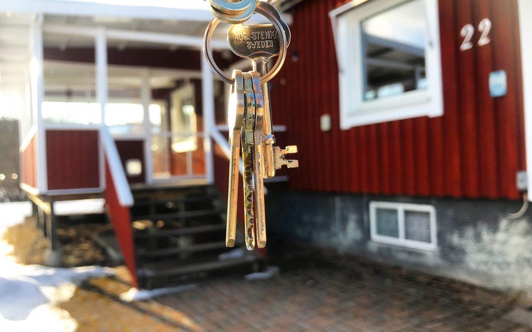 Nyckel till ett nytt liv!