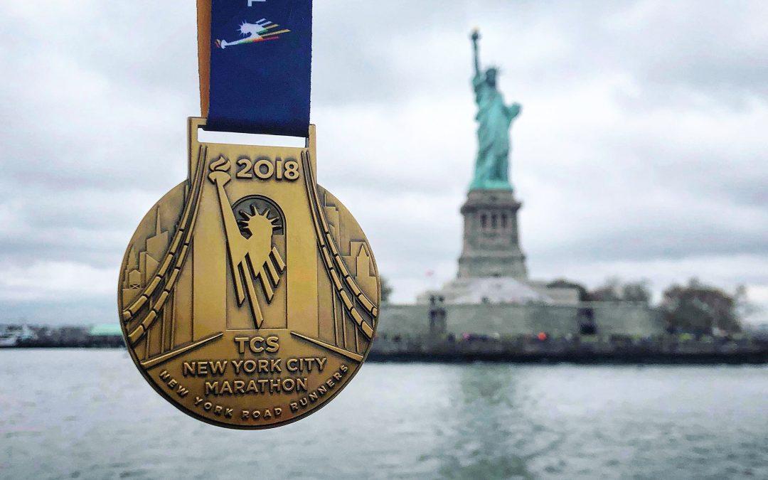 Race-rapport; New York marathon 2018